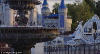 park wedding cost disney world offers couples new wedding experience with cinderella castle in the backdrop