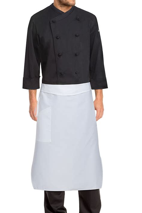tapered chef apron white aprons com