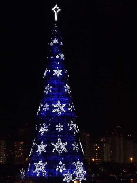 christmas tree rio de janeiro brazil christmas tree in