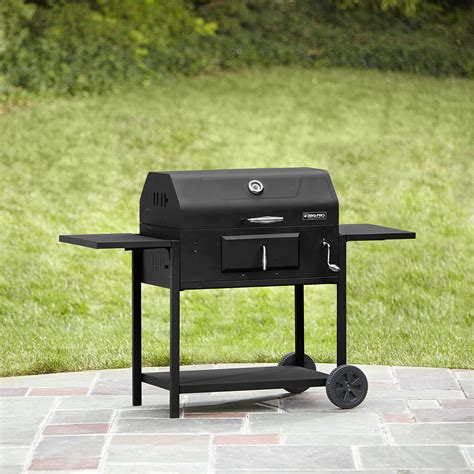 backyard pro grill bbq pro deluxe charcoal grill outdoor living grills
