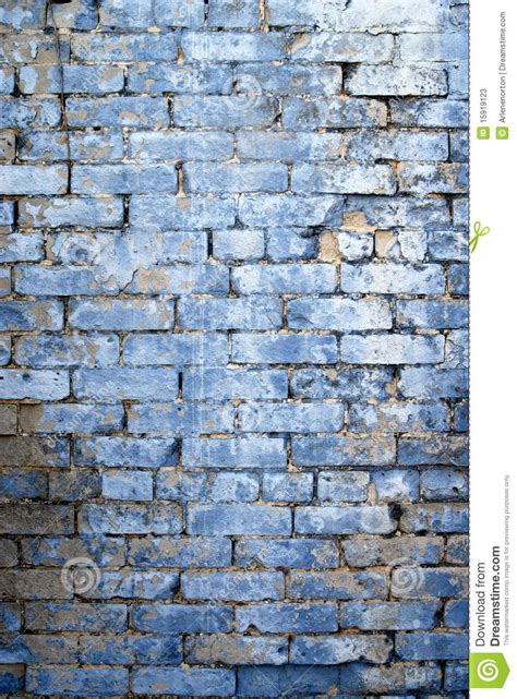 light blue washed wall stock 15919123