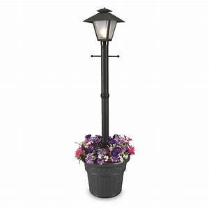 patio living concepts cape cod plug in outdoor black post With outdoor plug in light for gazebo
