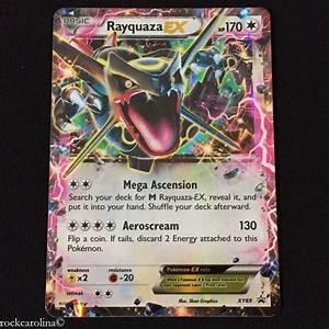 Shiny Rayquaza EX HOLO RARE XY69 (EX) Black Star PROMO ...