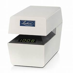 lathem gt not sure gt lt series With document time stamp machine
