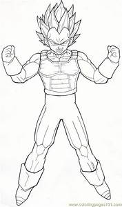 Coloring Pages Vegeta M89 By Moncho M89 (Cartoons > Vegeta ...