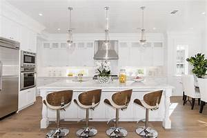 35 Large Kitchen Islands with Seating (Pictures