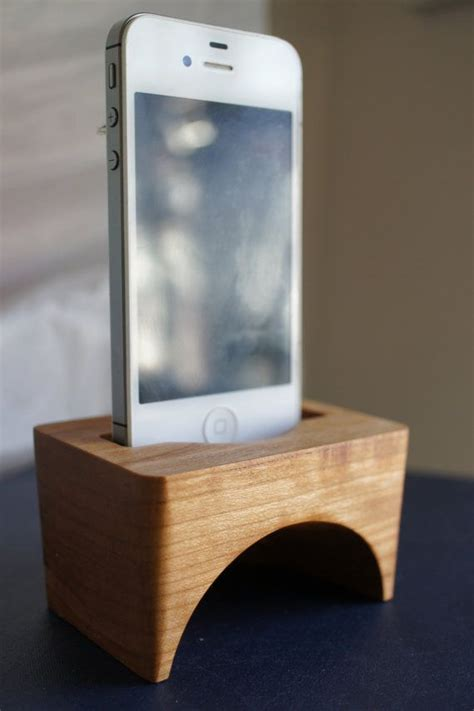 carved wood iphone speaker elegant iphone accessory