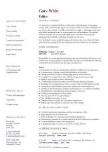 editor resumes exles editor cv sle overseeing the layout and appearance of articles cv resume
