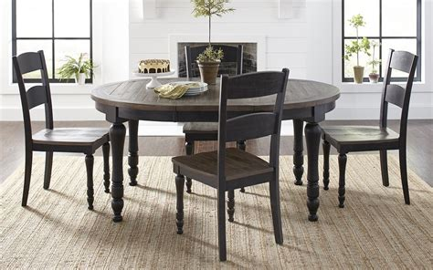 madison county   oval dining room set vintage