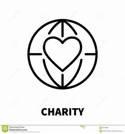 Charity Icon Line Purse Child