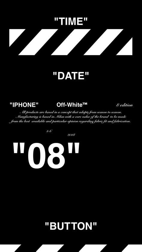 Iphone 11 Wallpaper White by White Iphone 8 Wallpaper 壁紙 Offwhite 18 4 10