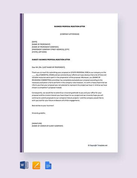 business proposal letter samples  pages