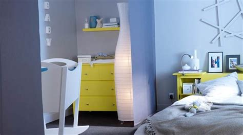 chambre parents bébé séparation panneaux japonais idées