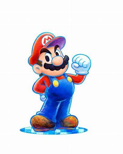 Mario Luigi Dream Team Bros Artwork Official