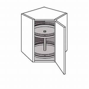 Meuble Cuisine D Angle : meuble de cuisine haut d 39 angle avec 2 plateaux twist cuisine ~ Dailycaller-alerts.com Idées de Décoration