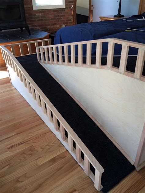 doggie ramp  bed  home design garden architecture