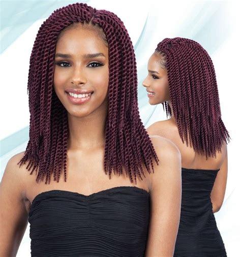 Single Twist Hairstyles by Freetress Crochet Braid Single Twist Large 10 Inch