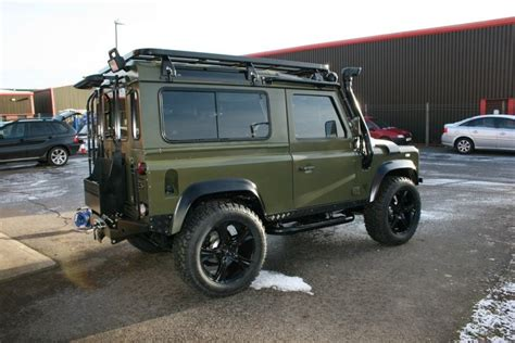 land rover military defender army green twisted performance it 39 s a man 39 s world