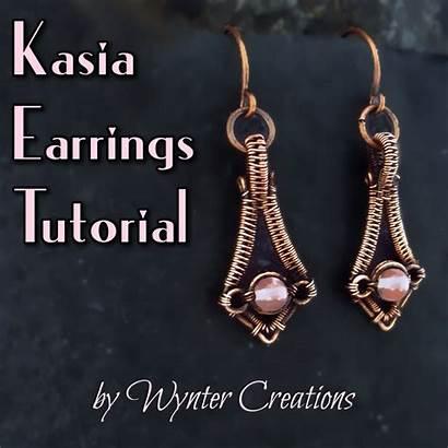 Wire Earrings Weave Tutorial Tutorials Kasia Celtic
