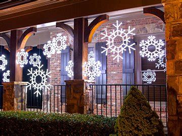 outdoor decorations - Large Outdoor Snowflake Decorations