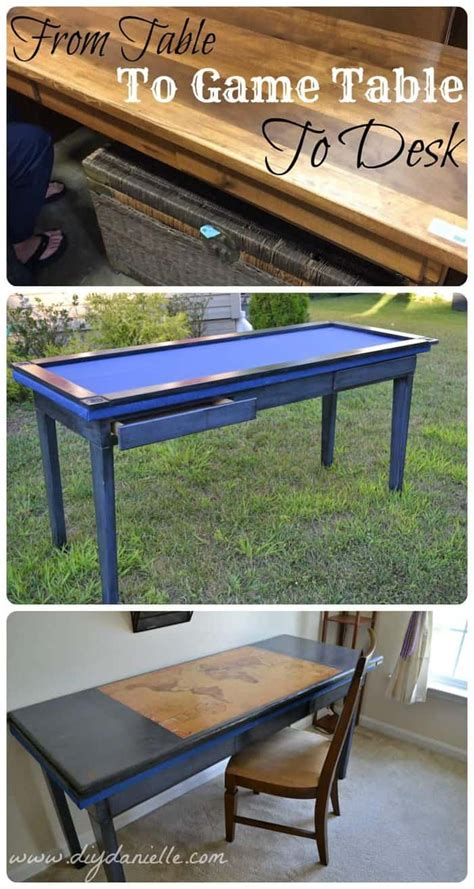 diy board game table  desk diy danielle