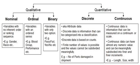 dataset  nominal ordinal binary  quantitative