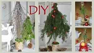 Basteln Mit Zweigen : diy weihnachtsdeko selber machen b ume aus zweigen und ~ Watch28wear.com Haus und Dekorationen