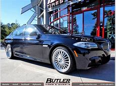 BMW 5 Series with 20in TSW Silverstone Wheels exclusively