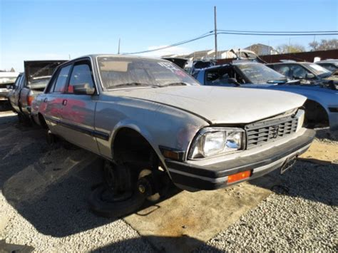 peugeot 505 usa junkyard find 1986 peugeot 505 s the truth about cars
