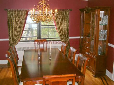 beautiful dining room window curtains pictures ltrevents