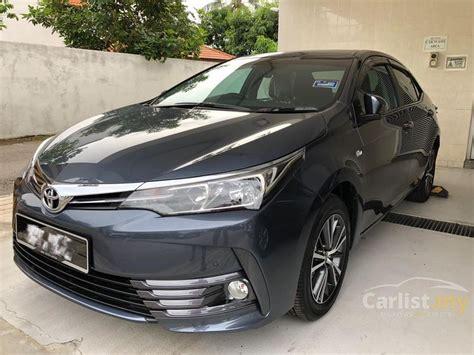 Toyota Corolla Altis 2019 by Toyota Corolla Altis 2019 G 1 8 In Melaka Automatic Sedan