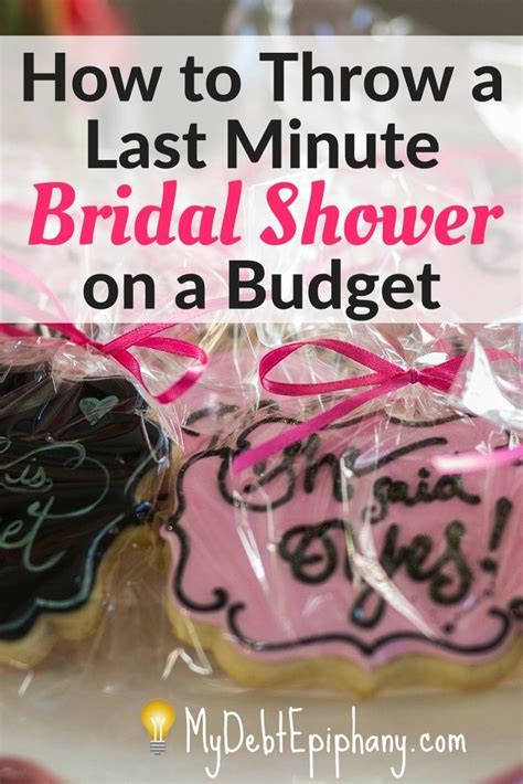 how to throw a bridal shower on a budget extra income