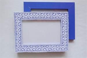 Bilderrahmen Mit Mehreren Bildern : steffi 39 s hochzeitsblog bilderrahmen mit spitze ~ Indierocktalk.com Haus und Dekorationen