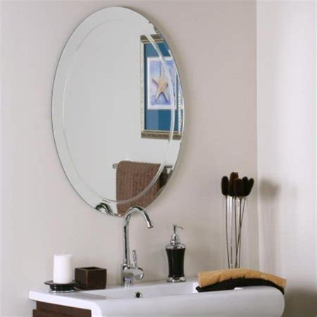 Eleanor frameless mirrors this wall mirrors will be great decoration to walls in your home. Decor Wonderland SSM1033 Frameless Aldo Wall Mirror   Walmart Canada