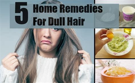 Hair Looks Dull by 5 Effective Home Remedies For Dull Hair