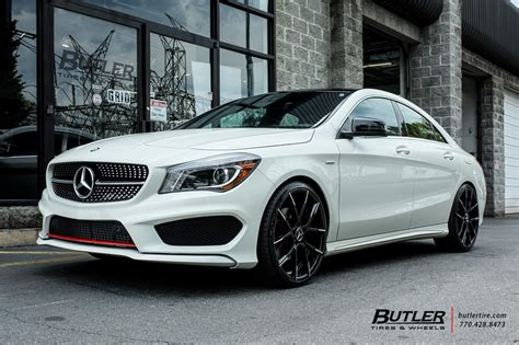 mercedes cla   lexani stuttgart wheels exclusively