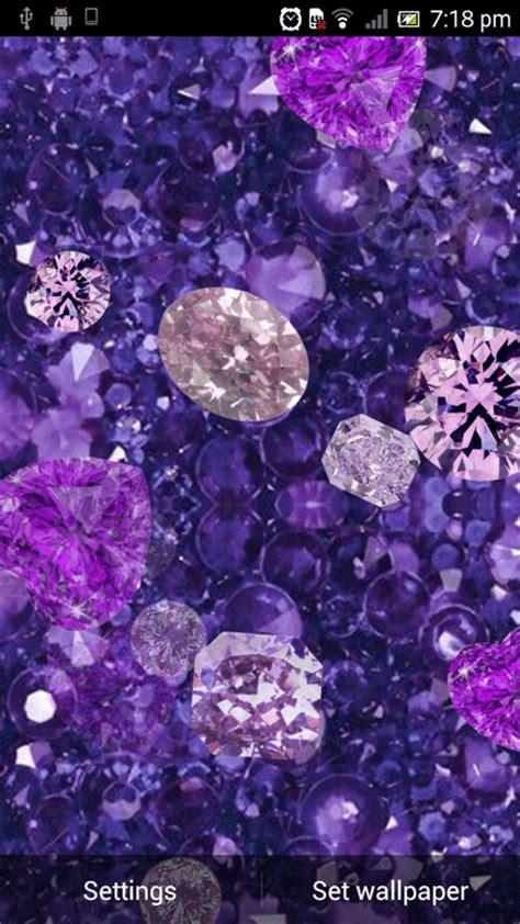 purple diamonds  wallpaper  apk