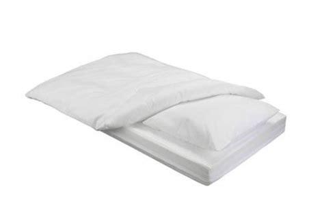 3 Tlg Anti Allergie Milbendicht Encasing Set Kissen Bett