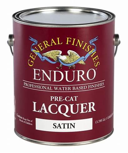 Lacquer Based Water Cat Pre Varnish Finishes