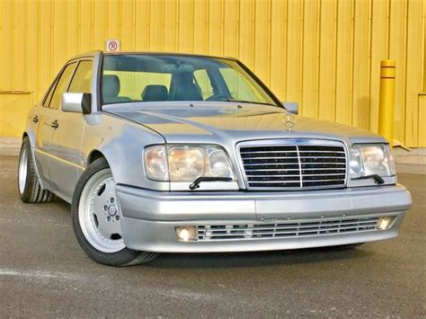 1994 mercedes e500 w124 500e import amg oz wheels euro spec classic mercedes