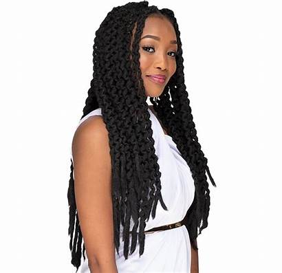 Rasta Crochet Trend Hairstyle