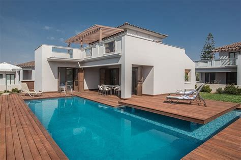 Villa To Rent In Nissi Beach, Cyprus With Private Pool