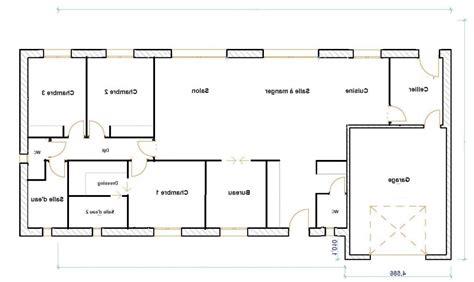 plan de maison plain pied 4 chambres gratuit plan maison plain pied 120m2 4 chambres bricolage maison