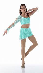 Promise Dance Costume Contemporary Lyrical Dress MINT Ballet Tap Child X-Small | Dancing Dance ...