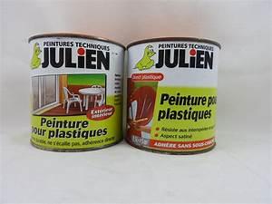 Peinture Pour Plastique Extérieur : peinture pour plastiques julien 0 5l julien g 39 peint ~ Dailycaller-alerts.com Idées de Décoration