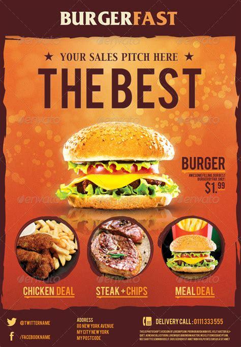 ultimate food flyers  corslu graphicriver