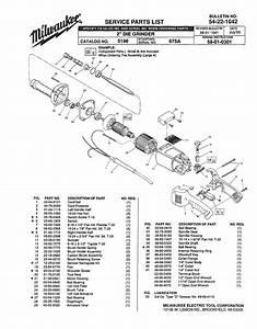 Milwaukee 5196 675a Parts