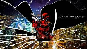 HD Deadpool Wade Winston Wilson Anti Hero Marvel Comics ...