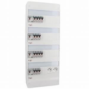 Tableau Electrique 4 Rangées : tableau lectrique pr quip legrand auto 4 rang es 13 ~ Dailycaller-alerts.com Idées de Décoration