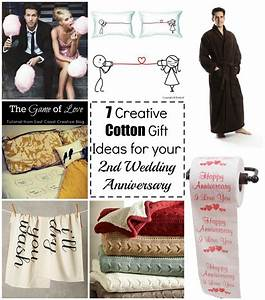 7 cotton gift ideas for your 2nd wedding anniversary With 2nd wedding gift ideas